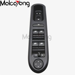Wholesale electric power windows - 100% New Hight Quality factory tested Front Left Side Power Electric Window Lifter Switch Panel For Peugeot 407 SW 2004-2010