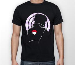 2019 sasuke uchiha camisa Sasuke Uchiha Rinnegan Naruto Anime Manga Camiseta Unisex Camiseta Camiseta Todos los tamaños 100% algodón Hombre Mujer Camiseta Camisetas Personalizado rebajas sasuke uchiha camisa