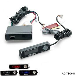 Timer turbo on-line-Universal Blauw / Rood / Wit LED Display Digital Car Auto Turbo Temporizador Relais Controlador Universele Kit