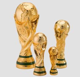 Deutschland Neue Fußball-Weltmeisterschaft Modell Champion Cup Modell Fußball Resin Modell Geschenke Sport Home Decoration Fußball Fan Supplies Versorgung