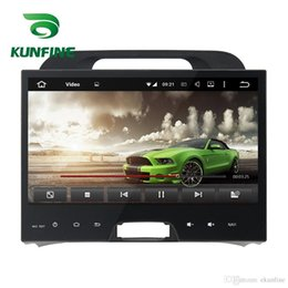 Wholesale Car Stereo Kia Sportage - Octa Core 2GB RAM Android 6.0 Car DVD GPS Navigation Multimedia Player Deckless Car Stereo for Kia Sportage 2010 2011 2012 Radio free map