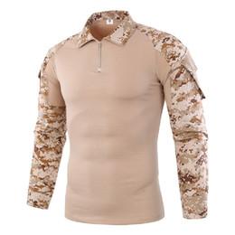 Chemise de combat de camouflage légère d'assaut rapide à manches longues Grenouille Tee shirt ? partir de fabricateur