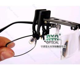 Canada 1 pince pliante avec loupe précise sur la bascule de lunettes loupe loupe mains libres cheap eyeglasses magnifiers Offre