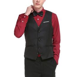 126fcfda863 2017 New Arrival Dress Vests For Men Slim Fit Mens Suit Vest Male Waistcoat Gilet  Homme Casual Sleeveless Formal Business Jacket