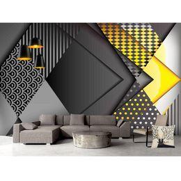 Luxury Wallpaper In Living Room