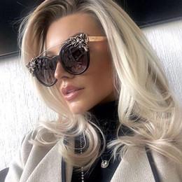 кошачий глаз очки ювелирные изделия Скидка Andyjoy солнцезащитные очки Женщины Cat Eye солнцезащитные очки женские ювелирные изделия горный хрусталь украшения очки роскошные оттенки Oculos De Sol Feminino