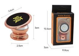 Soporte para teléfono móvil con soporte magnético para teléfono celular de imán 360 grados Soporte para teléfono magnético Soporte para teléfono para coche Soporte de navegación para automóvil desde fabricantes