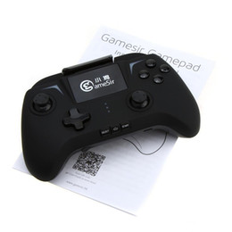 controlador de juegos bluetooth android Rebajas GameSir G2 Wireless Bluetooth Android Gamepad Game Controller Joystick para Tablet Smartphone
