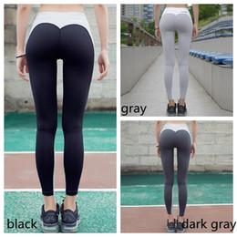 Wholesale women sports tights - New Women Nice Leggings High Quality Thin Sports Yoga Pants Fitness Running Long Trousers Legging Tight Sportwear GGA130 10PCS