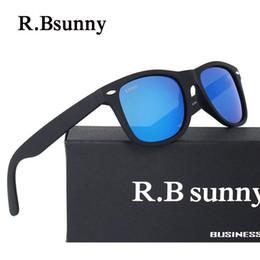 Wholesale Color White Activities - Brands High quality Women sunglasses Color polarized light Mirror Plastic frame Sunglasses men activities