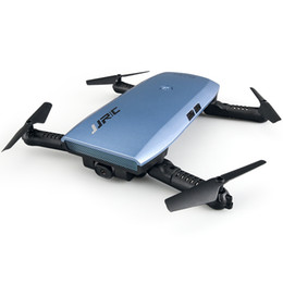 Sensor de eje online-JJRC H47 Drone con cámara 720P HD Video en vivo WiFi FPV 2.4GHz 4CH 6 ejes Gyro RC Selfie Quadcopter con retención de altitud, control G-sensor