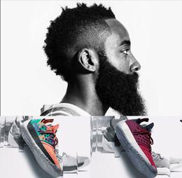 chaussures finales Promotion 2019 Nouvelles chaussures de basket-ball James Harden 2 Vol.2 de haute qualité Final Sneakers d'entraînement JH13 Sports de course de plein air Chaussures d'athlétisme