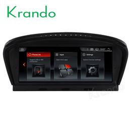 Argentina Krando Android 7.1 8.8 '' audio de DVD para automóvil con entretenimiento gps para el reproductor multimedia de navegación BMW 5 Series E60 2005-2010 Suministro