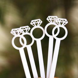 Wholesale cocktail diamond ring - Diamond Ring, Drink Stirrer, Gold Swizzle Sticks, Bridal Shower, Engagement Party, Wedding Stir Sticks,Cocktails,Bachelorette,La