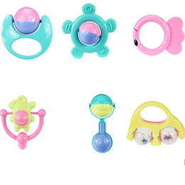 Conjunto musical para crianças on-line-Infantil Jingle Bola Musical Bonito Do Bebê Handbell Set Para Kid Toy Presente Muitos Estilos 4 31yj C R