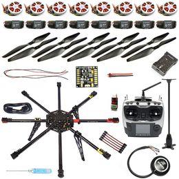 Wholesale Motor Controller Kit - JMT DIY GPS Drone Carbon Fiber 8-axis Aircraft PX4 2.4.8 Flight Controller APM2.6 GPS 350KV Motor 40A ESC Radiolink AT9S TX RX