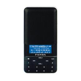 temporizador de calidad Rebajas Panda DS-178 altavoz de la tarjeta U disco / TF tarjeta reproducción temporizador interruptor letras de canciones sincronizadas para llevar conveniente sonido calidad clea