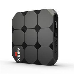 Оригинальный телевизионный блок онлайн-Новое поступление Оригинал A95X R2 Google Voice Control Android 7.1 TV Box 2018 Новые поступления S905W Smart TV Streaming Box System