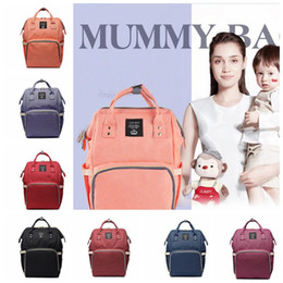 Wholesale Baby Diaper Nappy Bag Backpack - Diaper Bag Multi-Function Backpack Nappy Bags for Baby Care Large Capacity Mommy Backpacks Nappies Bags Outdoor Travel Bags KKA3774
