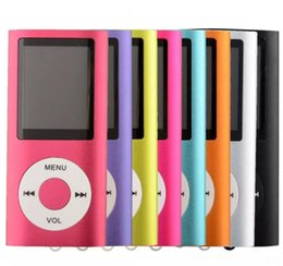 4e génération MP3 MP4 Player Slim 4TH 1.8