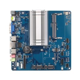 Wholesale Motherboard Usb Ports - XCY Intel Celeron N3160 mini pc motherboard LVDS port 17*17cm for mini computer desktop offical hosts without ram and ssd