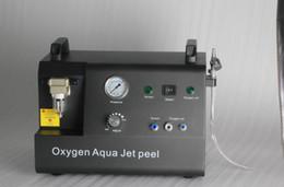 2019 máquina facial coreia Portátil 2 em 1 Jato de Oxigênio Máquina Facial Jet Peel de Pulverização de Oxigênio Coréia do design Oxigênio Facial Máquina Com Poder Forte de Rejuvenescimento Da Pele máquina facial coreia barato