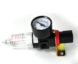 Filtros de compressor de ar on-line-AFR BFR Medidor de Pressão do Líquido Kit Kit de Filtro de Pressão Regulador De Pressão De Óleo Separador de Água Reduzir Interruptor de Pressão Compressor de Ar