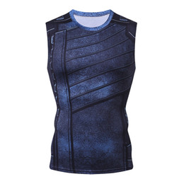 7dfbe792ea60c0 Winter Soldier 3D Printed G ym Tank Top Men Casual Fitness Clothing  Bodybuilding Singlet 2018 Mens T Shirt Sleeveless Tanktop mens tank tops 3d  print men ...