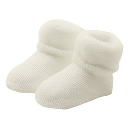 Wholesale Newborn Ankle Socks - baby socks newborn Baby Toddlers Combed Cotton Ankle Socks Elasticity Woolen Sock Spring,Autumn for 0-12months anti-slip