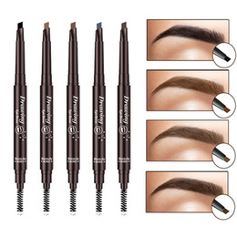 7002ed4a914 EyeBrow Pencil Cosmetics Makeup Tint Natural Long Lasting Paint Tattoo  Eyebrow Waterproof Black Brown Eye brow Makeup Set Beauty