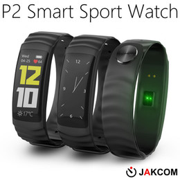 JAKCOM 2018 Neueste Smart Armband mit Touchscreen P2 Smart Uhr für Sport Puls Smart Tracker von Fabrikanten