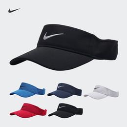 Moda nova alta qualidade carta bordado vazio top hat running cap viseira de Fornecedores de visores de corrida