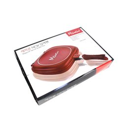 Outil de cuisson de haute qualité Poêle à frire durable Poêles rouges antiadhésives à double face Cuisine pratique simple Essential 80wl aa ? partir de fabricateur