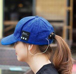 Bluetooth-Musik-Kopfhörer-Hut im Freien Baseball-Kopfhörer-Kappe drahtlose Bluetooth-Headset mit Lautsprecher 6 Farben gut von Fabrikanten