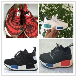 Wholesale Rubber Duck Shoes Sale - 2017 hot sale top quality Baby Kids ChildrenNew Color NMD XR1 Friday Duck Camo olive Sport Running Shoes Size 26-35