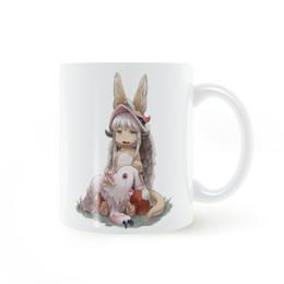 Wholesale Making Mugs - Nanachi and Miti Made in Abyss Mug Coffee Milk Ceramic Cup Creative DIY Gifts Home Decor Mugs 11oz T1141