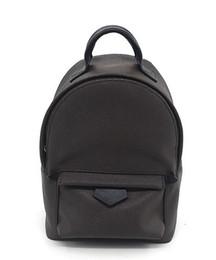Mini mochilas de couro para mulheres on-line-Frete grátis! Moda Palm Springs Mochila Mini couro genuíno crianças mochila mulheres impressão de couro 41562