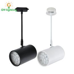 Pista del braccio online-I faretti a braccio lungo a guida leggera a binario a luce spot a LED estendono la lampada a binario guida di altezza per negozi / mostre / spettacoli
