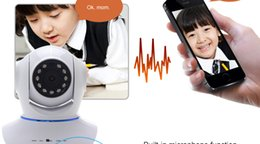 hochwertige ip-kamera Rabatt Upgrade Qualität drahtlose 720 P HD WiFi IP Netzwerk Wireless Webcam Home Security Kamera Überwachung PnP P2P AP Pan Tilt IR