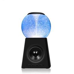 Fontes led dançando on-line-New led colorido fonte bluetooth speaker polo aquático tornado música dança da água som bluetooth subwoofer moq: 10 pcs frete grátis