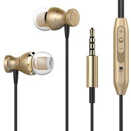 auriculares de bajo pesado Rebajas Auriculares estéreo súper bajos de 3.5 mm Auriculares bajos pesados para Huawei Honor 8 Honor8 Lite fone de ouvido