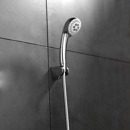 2019 pressão da mão do chuveiro Haliaeetus mão de alta pressão banheiro chuveiro mão chuveiro tubo titular banheiro conjunto branco pressão da mão do chuveiro barato