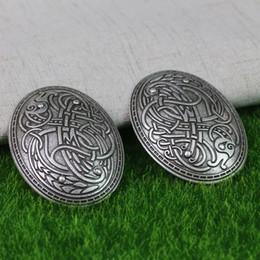 2019 porcos rápidos Langhong 10 pcs Suécia Dragão Broche Nordic Vikings Amuleto Suécia Escandinavo Dragão Broches Viking brosch talismã de jóias