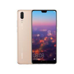 Оригинальный мобильный телефон Huawei P20 4G LTE 128 ГБ / 64 ГБ ПЗУ 6 ГБ ОЗУ Kirin 970 Octa Core Face ID 5,8