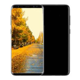 unlocked 3g wifi smartphones Australia - 6.2inch Goophone 9plus Quad Core cell phones 3G 32GB with real 4G LTE Unlocked Smartphones