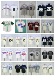 Wholesale Beer Baseball - Movie jersey Hooligans Bruno Mars Wade Boggs Doug Remer Joe Cooper Roberto Clemente Seth Beer #9 Knights #26 Saquon Barkley Baseball Jersey