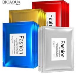 Wholesale Masking Sheet - Famous cosmetics BIOAQUA Fashion Facial Mask 30g Children's facial silk protein mask Cosmetic Whitening Facial Multi-colors