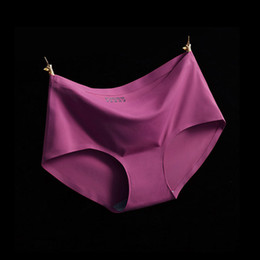 73e84c1a3 2018 Venda Quente de boa qualidade Sem Costuras Cuecas Everyday Underwear Mulheres  Calcinhas Traceless Raw-cut Sexy lingerie Hipster Rosa Briefs íntimo