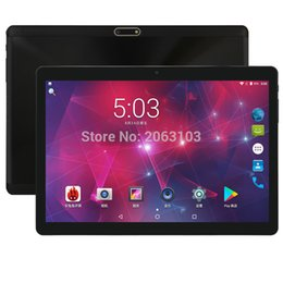 2019 ram-pad-tablette 10 Zoll 4G FDD LTE Tablette Octa Kern 1280 * 800 IPS 4 GB RAM 64 GB ROM Doppel-SIM-Karten Android 7.0 GPS-Tabletten 10.1 Medien Pad Youtube günstig ram-pad-tablette