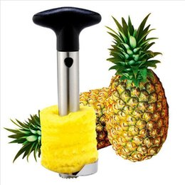 cetrioli di plastica Sconti Creativo in acciaio inox Frutta Ananas Corer Ananas Affettatrici Utensili da cucina Ananas Peeler Coltello Parer con pacchetto